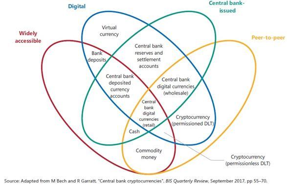 """图6:BIS""""货币之花""""模型"""